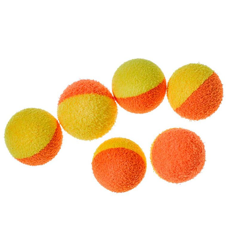 Mousse carpe starbaits two tones balls orange + jaune - Imitations | Pacific Pêche