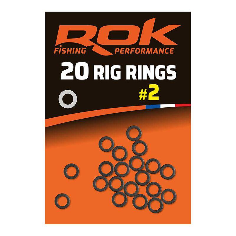 Rig rings anneaux rok - pochette de 20 - Anneaux | Pacific Pêche