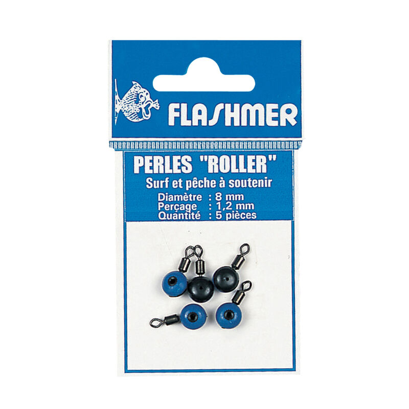 Perles rotatives coulisseau mer flashmer perle roller (x5) - Perles | Pacific Pêche