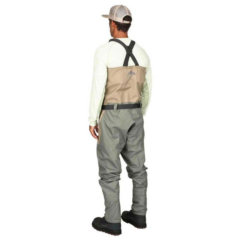 Pack wading simms tributary stockingfoot tan + chaussure tributary - Packs wading | Pacific Pêche