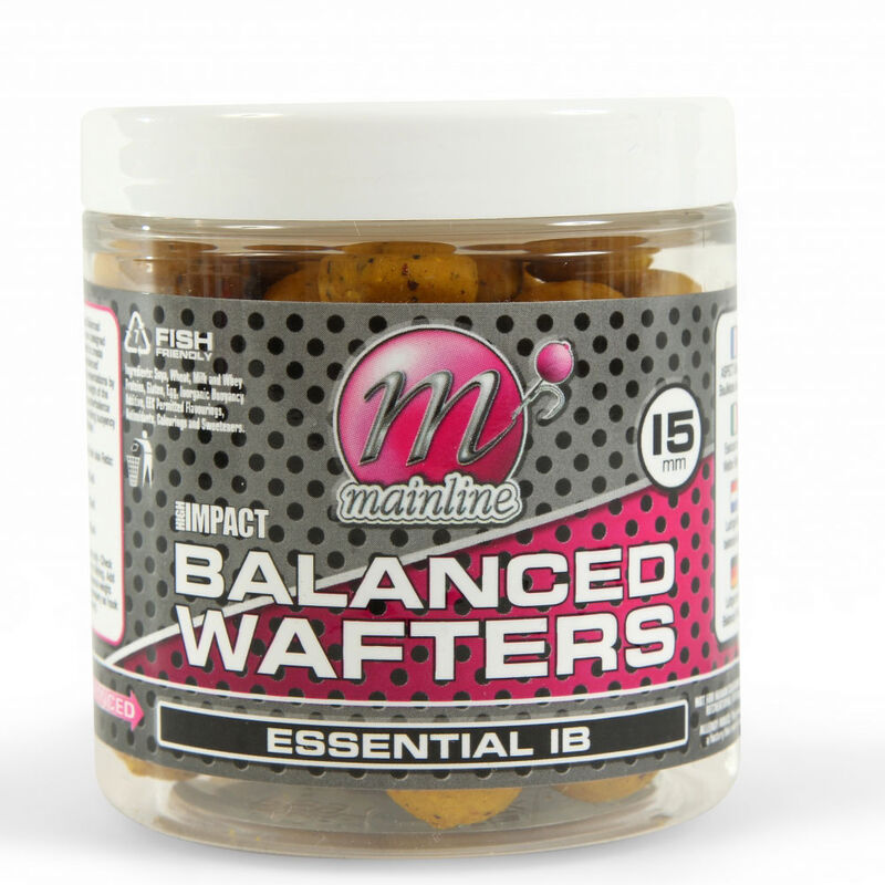 Bouillettes équilibrées carpe mainline high impact balanced wafters essential ib - Equilibrées | Pacific Pêche