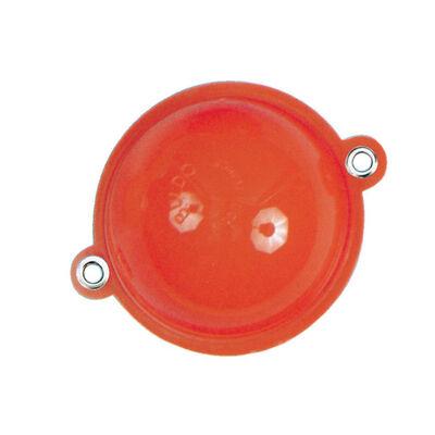 Buldo carnassier rond rouge (x2) - Flotteurs | Pacific Pêche