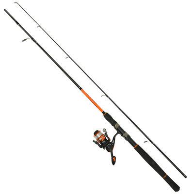 Ensemble lancer spinning carnassier redfish basalt 2.40m 10-40g + cs 3000 - Ensembles | Pacific Pêche