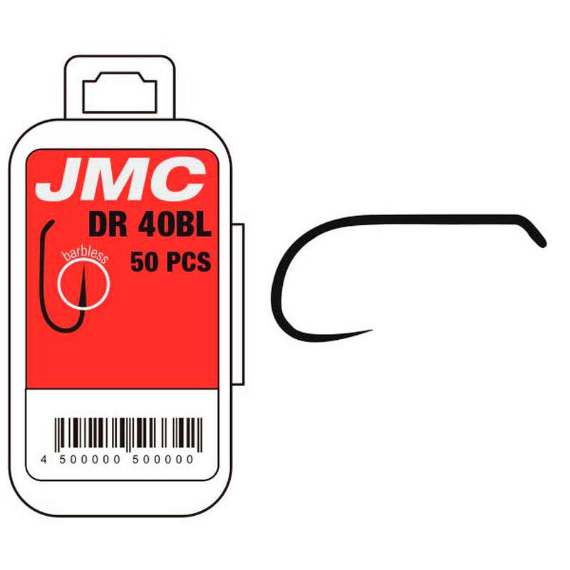 Hameçons mouche jmc dr40bl (x50) - Hameçons | Pacific Pêche