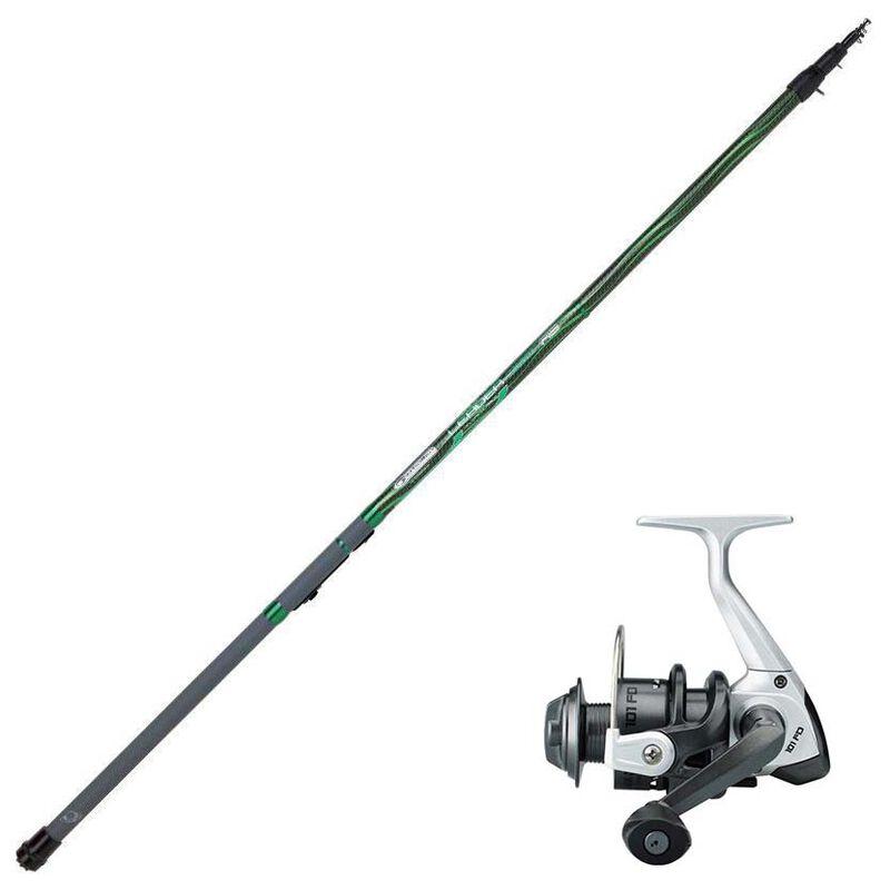 Ensemble garbolino leader rs 3,80 m + black trout 101fd - Canne + moulinet | Pacific Pêche