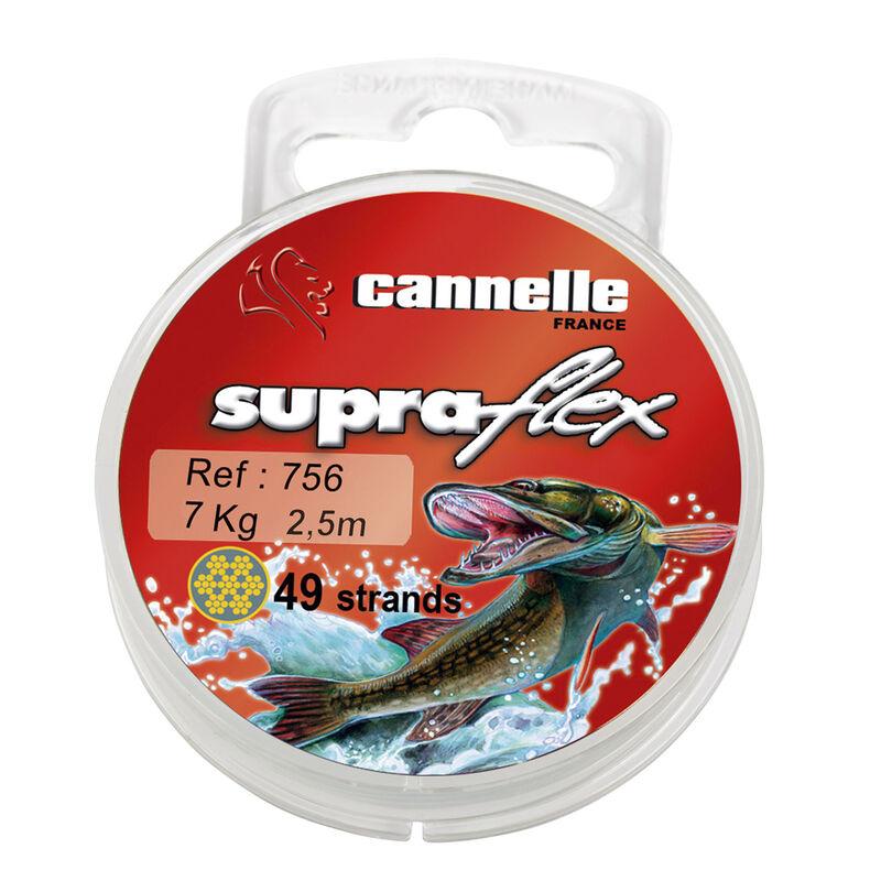 Bas de ligne acier carnassier cannelle supraflex c756 2.50m - Bas de ligne acier | Pacific Pêche