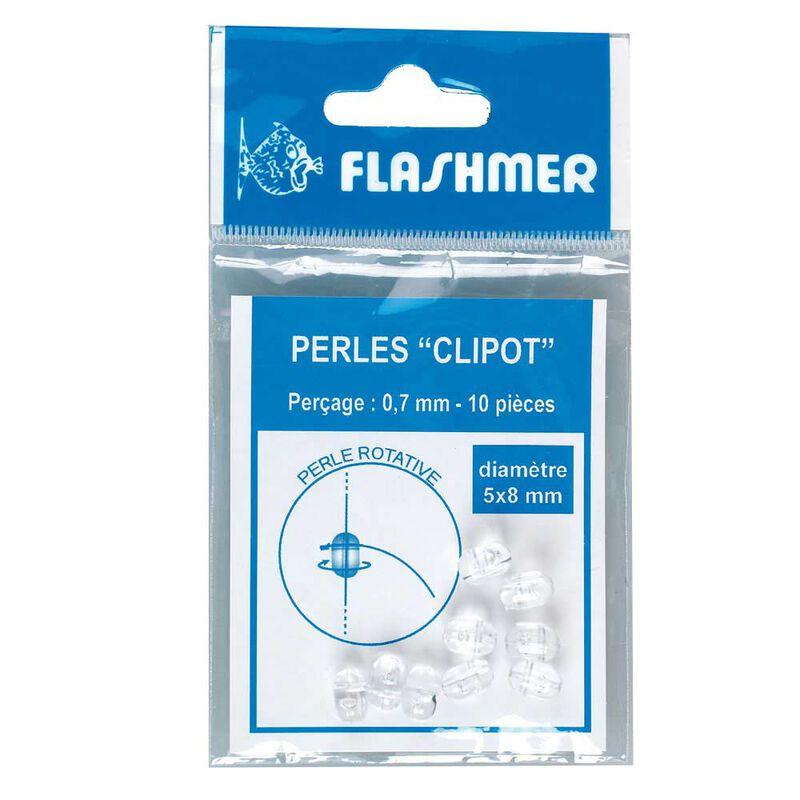 Perles rotatives (ou perles clipot) flashmer - Perles | Pacific Pêche