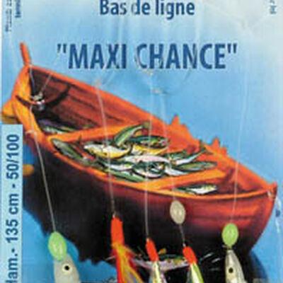 Leurre train de plumes mer flashmer maxi chance - Bas de Lignes / Lignes Montées | Pacific Pêche