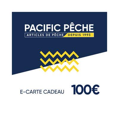 E-carte cadeau pacific pêche 100 euros - Cartes cadeau | Pacific Pêche