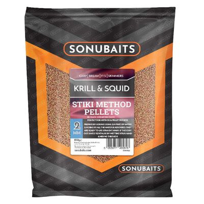 Method pellets sonubaits stiki method krill and squid 650g - Amorçage | Pacific Pêche
