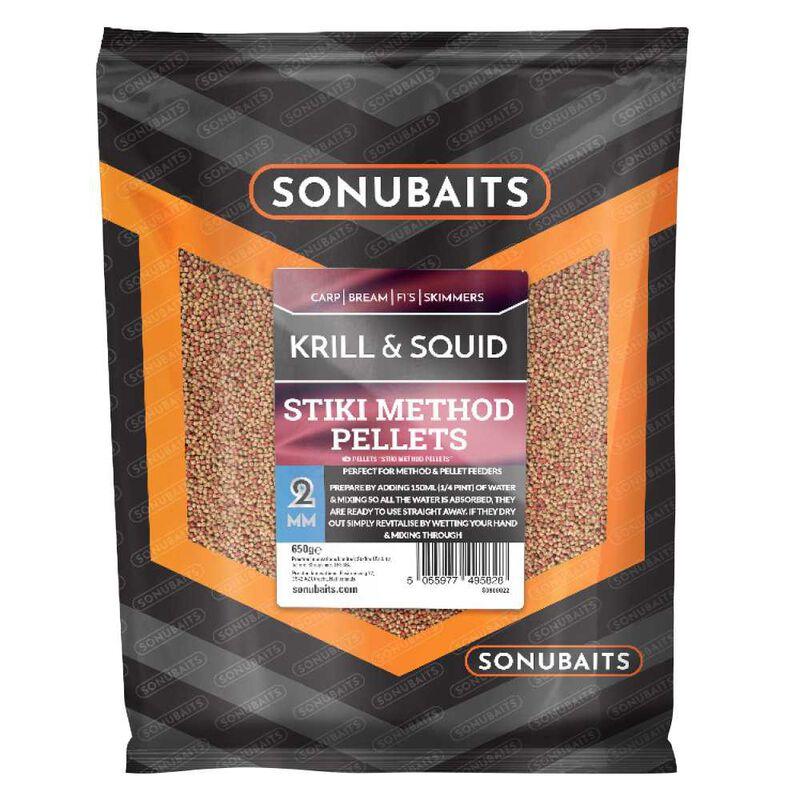 Method pellets sonubaits stiki method krill and squid 650g - Amorçage   Pacific Pêche