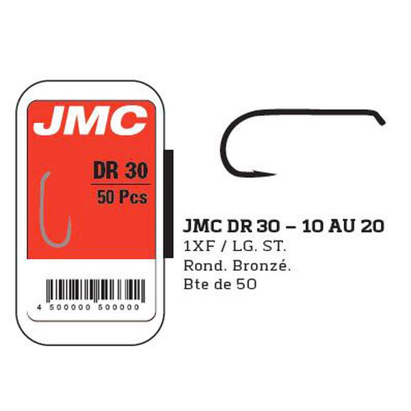 Fly tying hameçons jmc dr30 (x50) - Hameçons | Pacific Pêche