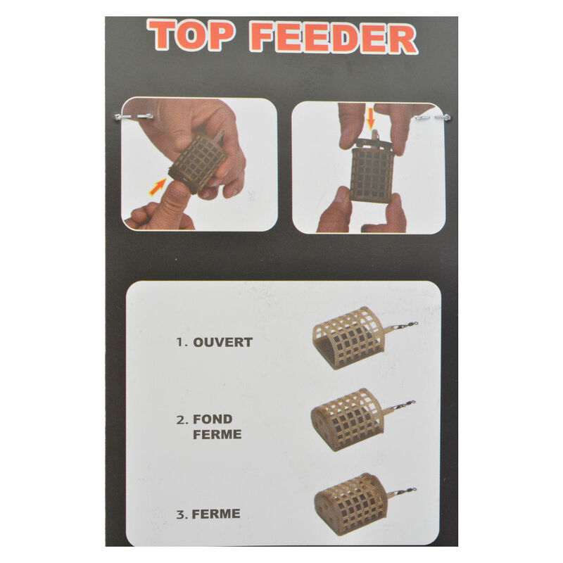 Cage feeder  team france top feeder - Cages Feeder | Pacific Pêche