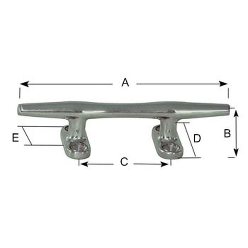 TAQUET ROND INOX 127MM - Accastillage | Pacific Pêche