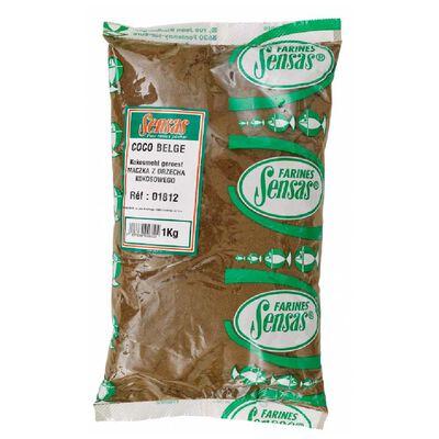 Farine sensas coco belge 1kg - Farines | Pacific Pêche