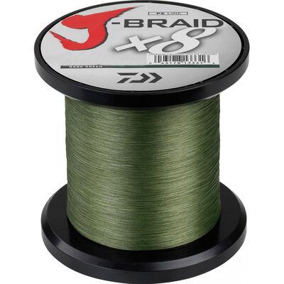 Tresse daiwa jbraid 8 brins dark green 1500m - Tresse | Pacific Pêche
