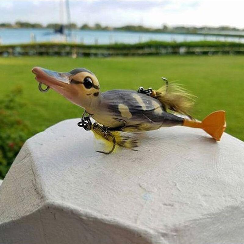 Leurre dur surface carnassier savage gear 3d suicide duck f 10.5cm 28g - Surface   Pacific Pêche
