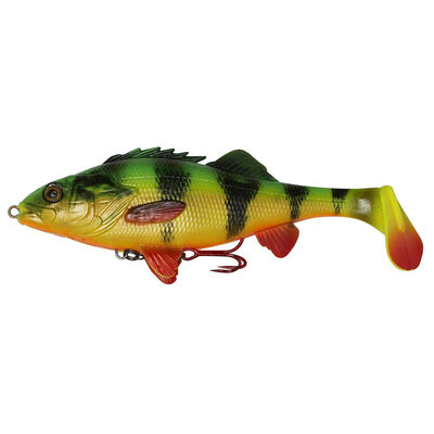 Leurre souple shad carnassier savage gear 4d perch shad 17.5cm 75g ss - Leurres shads | Pacific Pêche