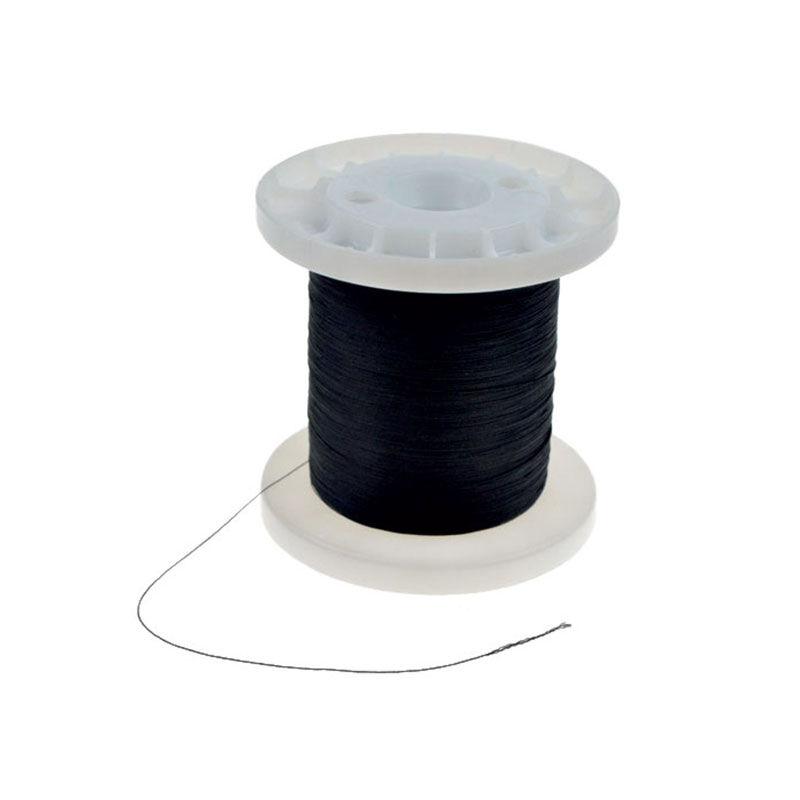 Ligature à anneaux carnassier pafex noire (bobine de 10m) - Outillages | Pacific Pêche