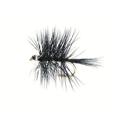 Mouche sèche silverstone palmer noir h14 (x3) - Sèches | Pacific Pêche