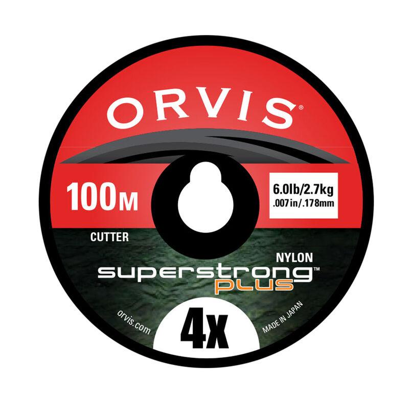 Fil nylon mouche orvis super strong plus (100 m) - Monofilaments | Pacific Pêche