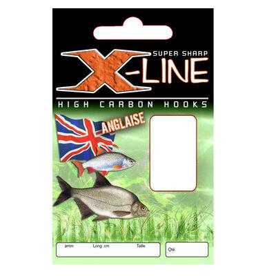 Hameçons montés coup x line anglaise (x10) - Hameçons Montés | Pacific Pêche