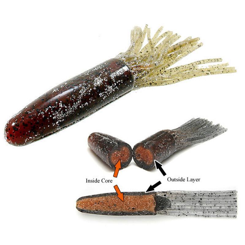Leurre souple tube carnassier keitech salty core tube 10,7cm 14g (x6) - Tubes / Octopus | Pacific Pêche