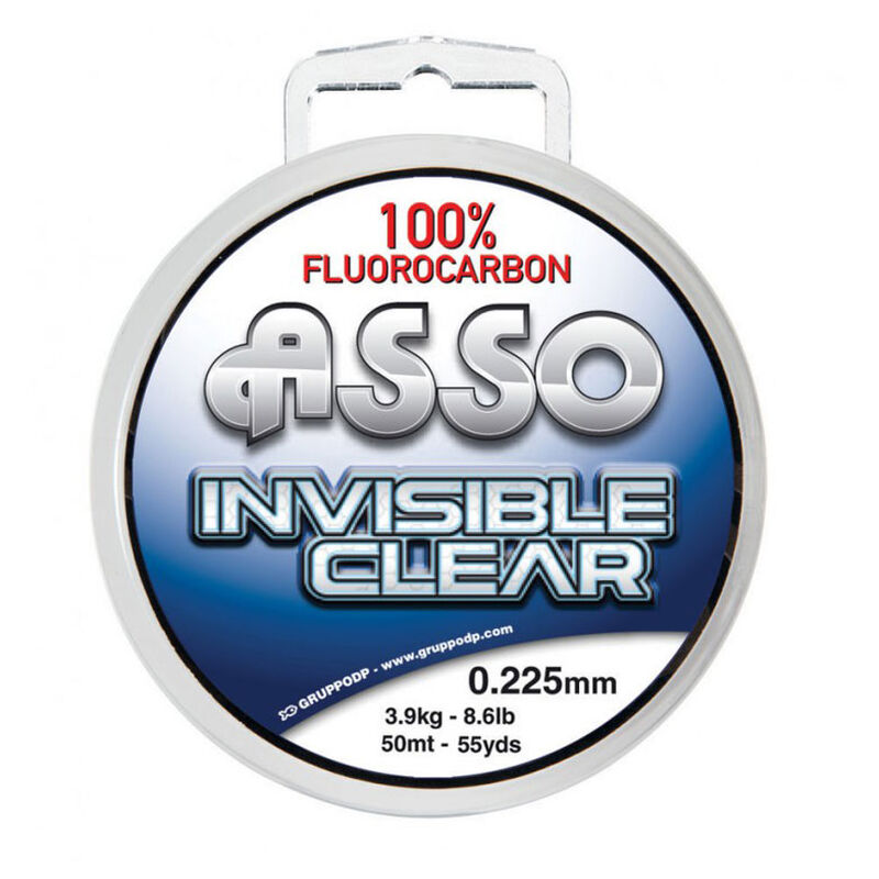 Fil fluorocarbone flashmer invisible clear 30m - Fluorocarbons | Pacific Pêche