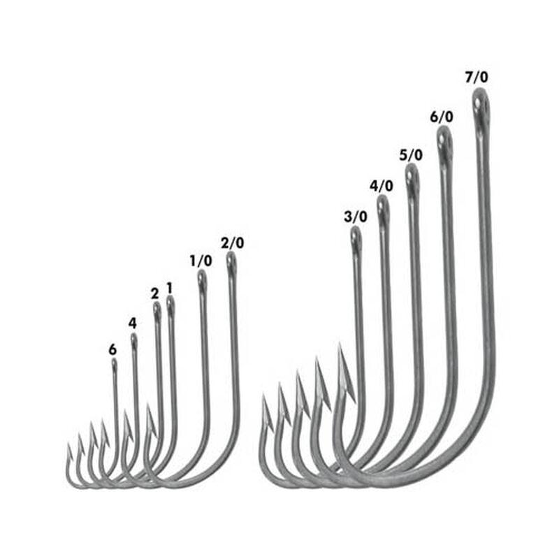 Hameçons simples vmc 8255s o'shaugunessy tige longue pochette de 25 hameçons - Simples | Pacific Pêche
