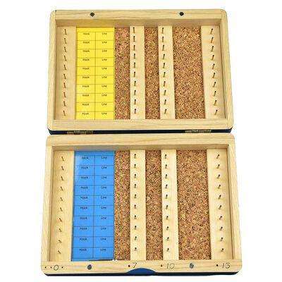 Boite à bas de ligne en bois gold garbolino format s 24 emplacements - Boites   Pacific Pêche
