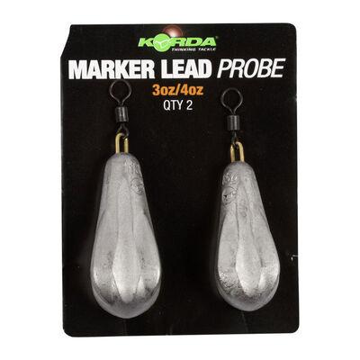 Plomb marqueur carpe korda probe marker lead 3-4oz (x2) - Emerillons | Pacific Pêche