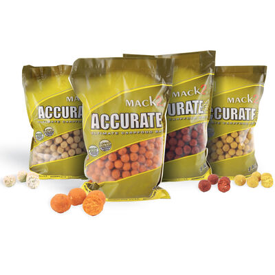 Bouillettes carpe mack2 accurate boilies strawberry 20mm 1kg - Denses | Pacific Pêche
