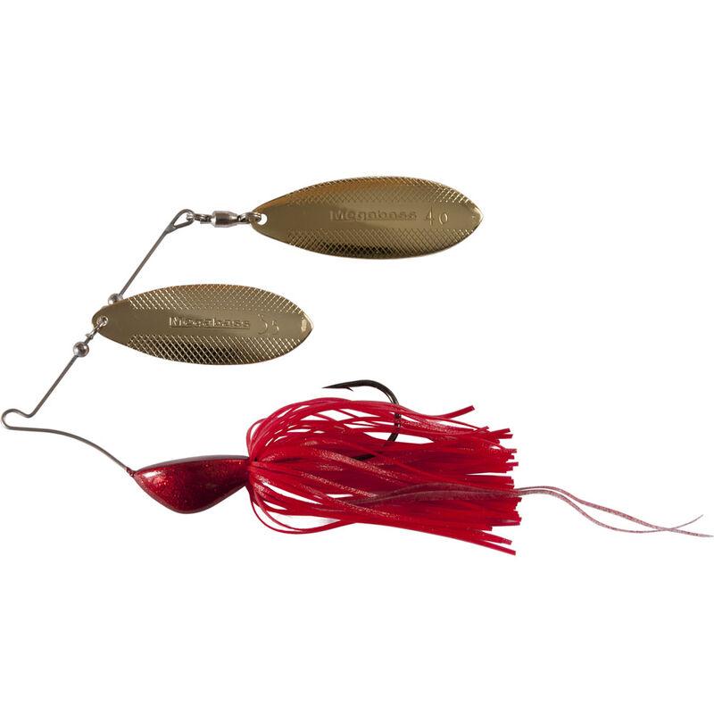 Leurre métallique spinnerbait carnassier megabass v flat power bomb 14g - Leurres spinner Baits   Pacific Pêche