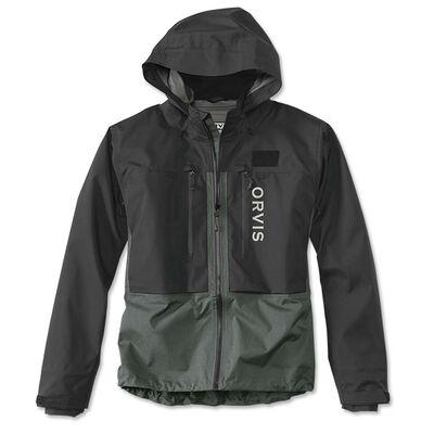 Veste pro wading jacket orvis (black/ash) coloris noir et cendre - Vestes/Gilets | Pacific Pêche