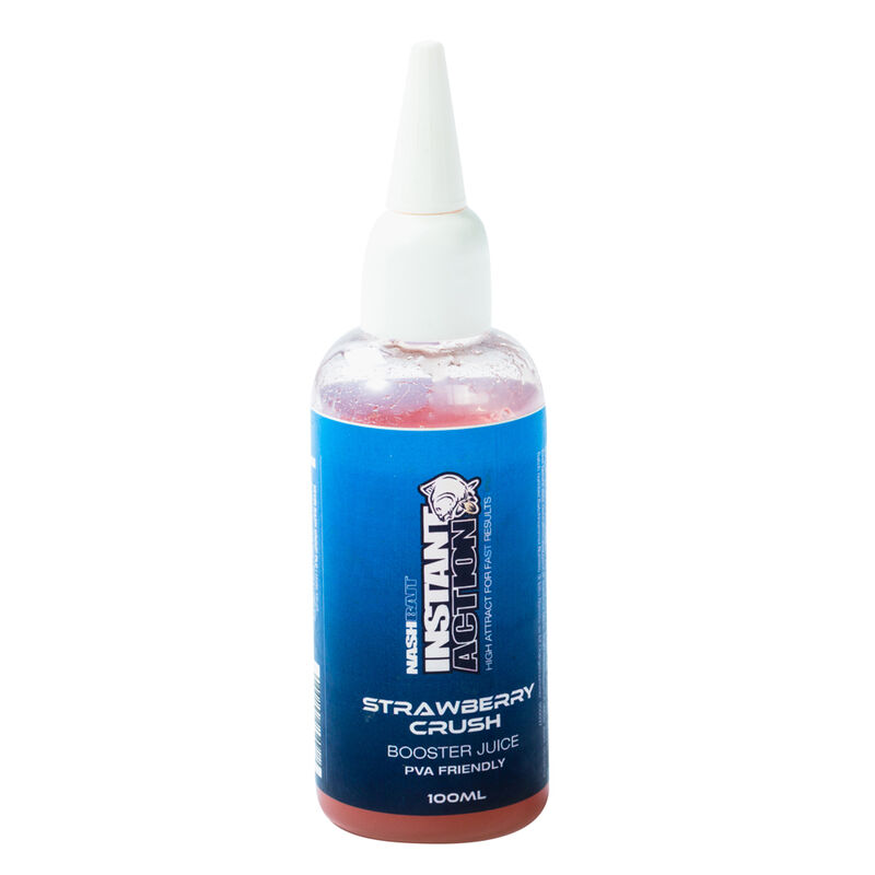 Booster carpe nashbait instant action juice strawb. crush 100ml - Boosters / dips   Pacific Pêche