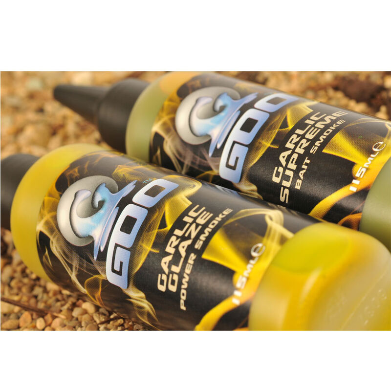 Booster carpe goo spicy squid power smoke - Boosters / dips | Pacific Pêche