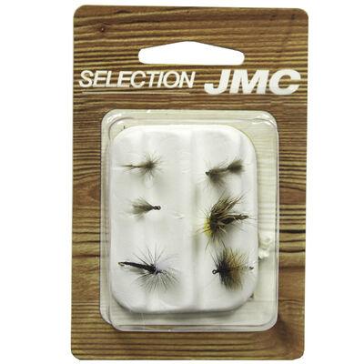 Kit de mouches jmc sélection chevesne/ablette (6 mouches) - Kit Mouches | Pacific Pêche