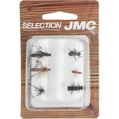 Kit de mouches jmc terrestres (6 mouches) - Kit Mouches   Pacific Pêche