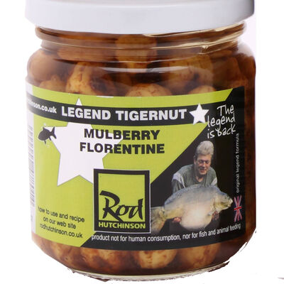 Graines cuites carpe rod hutchinson tigernut mulberry florentine - Prêtes à l'emploi | Pacific Pêche