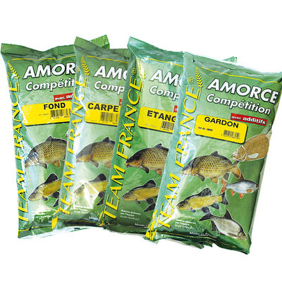 Amorce coup team france competition fond 1kg - Amorces | Pacific Pêche