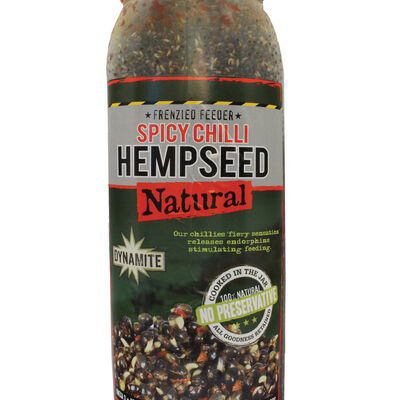 Graines cuites carpe dynamite baits chili hempseed jar 2.5lt - Prêtes à l'emploi | Pacific Pêche