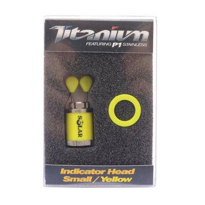 Tête de hanger solar indicator head small (jaune) - Accessoires de balanciers | Pacific Pêche