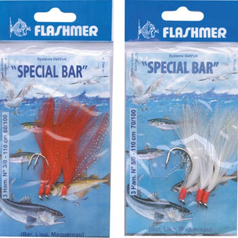 Bas de ligne mer flashmer special bar n°3/0 - Bas de Lignes / Lignes Montées   Pacific Pêche