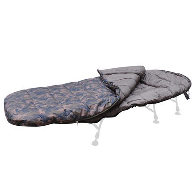 Duvet carpe mack2 h max camo sleeping bag - Sac de couchages | Pacific Pêche