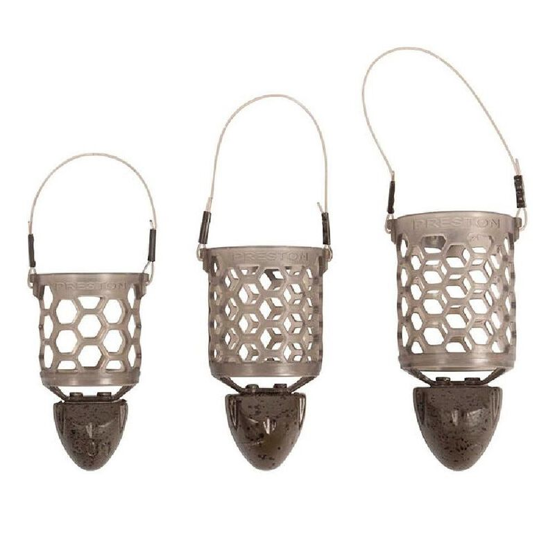 Cage feeder preston hexmesh plastic bullet large - Cages feeder | Pacific Pêche