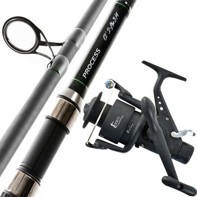 Ensemble carpe team carpfishing canne 12 process+ moulinet 6000fs - Ensembles | Pacific Pêche