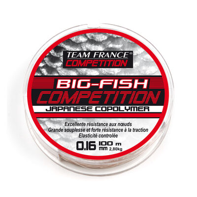 Nylon coup team france big fish competition 100m - Monofilaments | Pacific Pêche