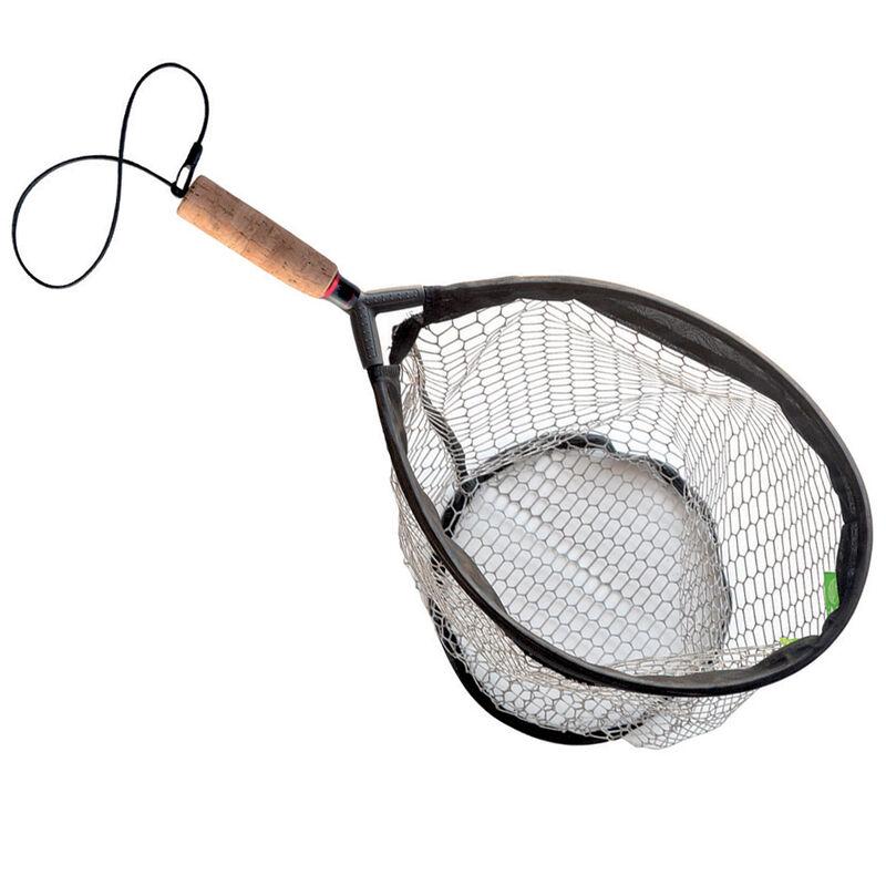 Epuisette mouche raquette pafex flynet 60 (filet rubber anti accrochage + poignée liège) - Epuisettes | Pacific Pêche