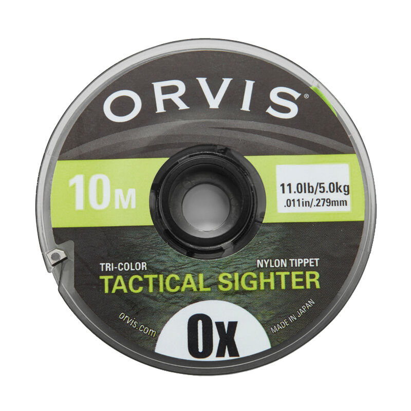 Fil nylon orvis tactical sighter tippet multicolor 0x (0,279 mm) - Monofilaments | Pacific Pêche