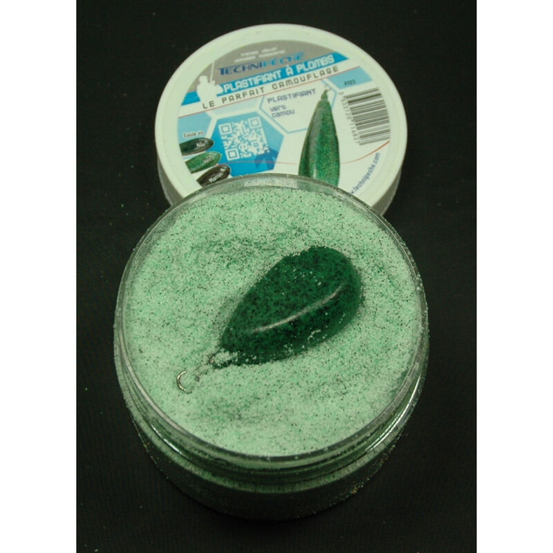 Plastifiant pour plombs technipeche vert camou 250ml - Plombs | Pacific Pêche